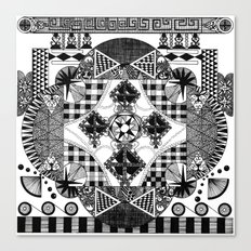 symmetry and a little bit of assymetry Canvas Print