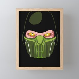 The Mask of Reptile Framed Mini Art Print