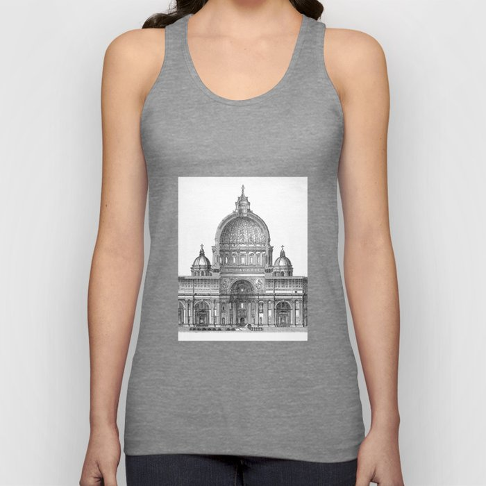 St. Peter Basilica - Rome, Italy Unisex Tank Top
