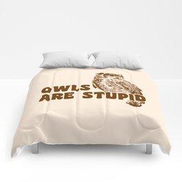 Owls Are Stupid Comforters