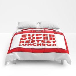 Super Duper Bestest Lunchbox Comforters