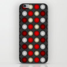 Dark Romance Polka iPhone & iPod Skin