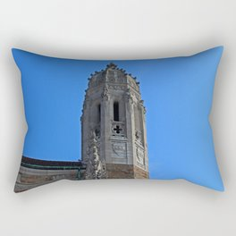 Old West End Our Lady Queen of the Most Holy Rosary Cathedral Steeple- horizontal Rectangular Pillow