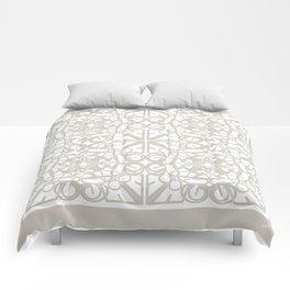 Gender Equality Tiled - Neutral Soft Comforters
