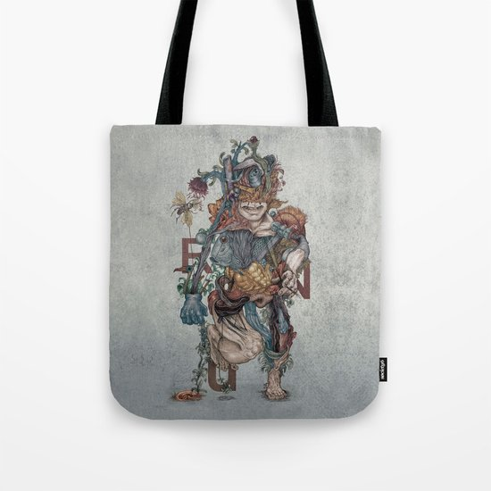 Human naturally Tote Bag