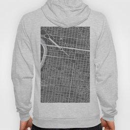 Center City Philadelphia Map Hoody
