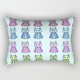 Emotion Ocean 5: Cat Jellies Rectangular Pillow