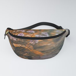 Misty Morning Behind The Garden Wall Fanny Pack