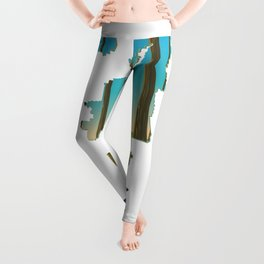 Gifford Pinchot National Forest map Leggings