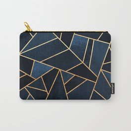 Navy Stone Carry-All Pouch