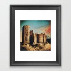 Sand Castle  Framed Art Print