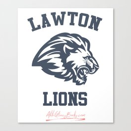 The Field Party - Lawton Lions Canvas Print