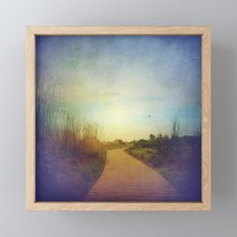Pave the Way Framed Mini Art Print