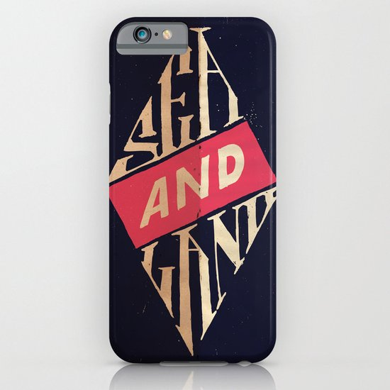 Sea and Land iPhone & iPod Case
