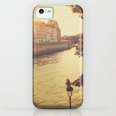 Paris sunset iPhone 5c Slim Case