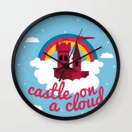 Castle On A Cloud Wall Clock