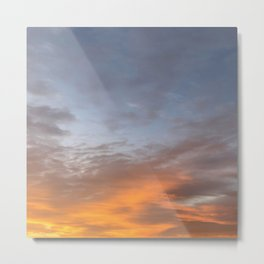 Beautiful Morning Sky Metal Print