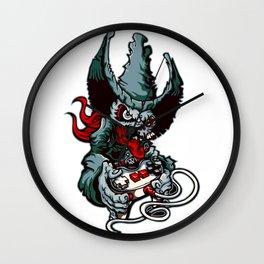 Gamer Skull -  Bermuda Grey Wall Clock