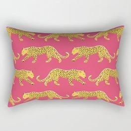 The New Animal Print - Berry Rectangular Pillow