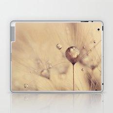 dandelion gold Laptop & iPad Skin