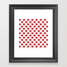 Hearts Galore! Framed Art Print