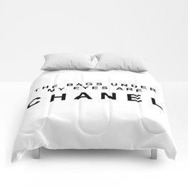 Designer eye bags Comforters