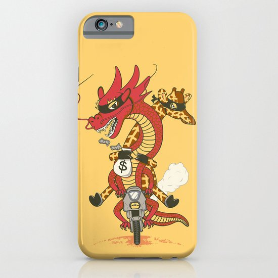 Unusual Partners In Crime iPhone & iPod Case