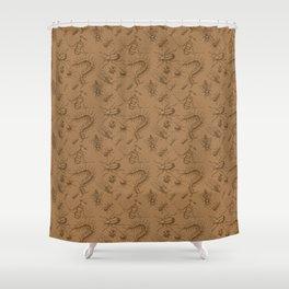 Bichos (bugs) Shower Curtain