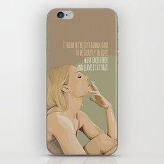 Margot Helen Tenenbaum iPhone & iPod Skin