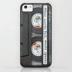 Cassette iPhone - Words iPhone 5c Slim Case