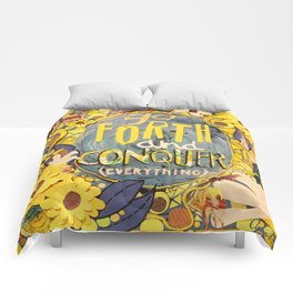 Go Forth and Conquer (everything) Comforters
