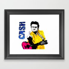 Cash  Framed Art Print