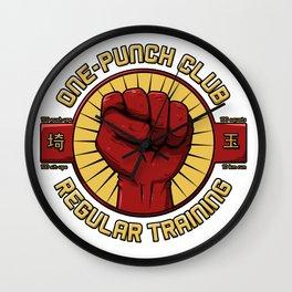 One-punch Club Wall Clock