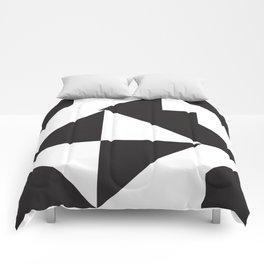 losanges noirs 7 Comforters