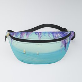Wisteria by the sea Fanny Pack