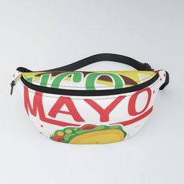 Cinco de Mayo Gift Mexico Holiday Puebla Fanny Pack