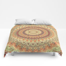 Mandala 467 Comforters