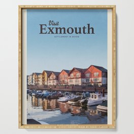 Visit Exmouth Serving Tray