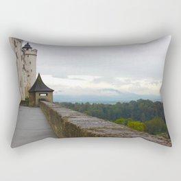 A view from Festung Hohensalzburg Castle Rectangular Pillow