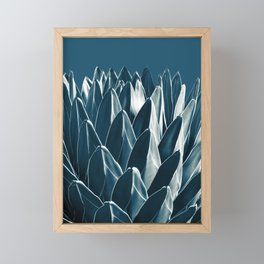 Agave Chic #5 #succulent #decor #art #society6 Framed Mini Art Print