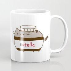 Nutella Cat Mug