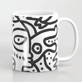 Black and White Graffiti Street art Ink Marker  Coffee Mug