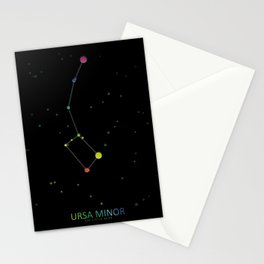 Ursa Minor  Constellation 'The Little Bear' Stationery Cards