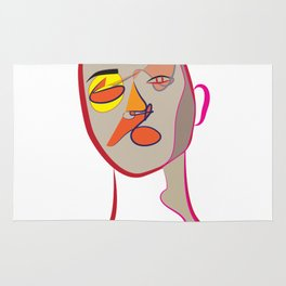 Face of Colours Rug