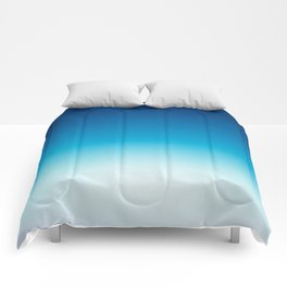 Ombre Blue Comforters