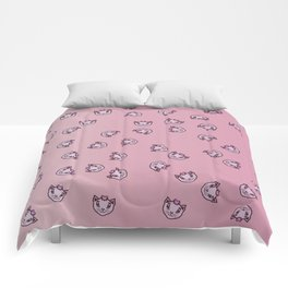 UGLY CATS Comforters