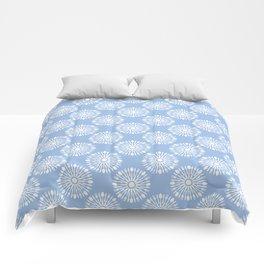 Kitchen cutlery blue Comforters