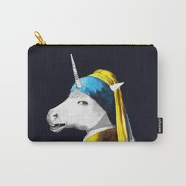 Cool Animal Art - Funny Unicorn Carry-All Pouch