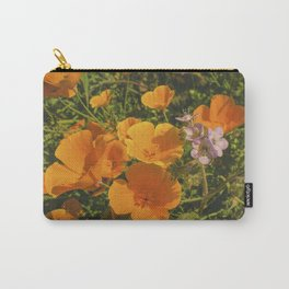 California Poppies 009 Carry-All Pouch