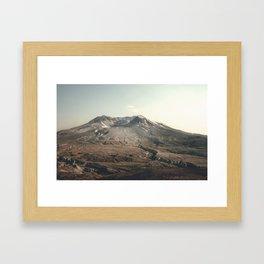 Mt. St. Helens Framed Art Print